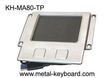 Rugged Industrial Touchpad Mouse with Stainless steel Panel Mount